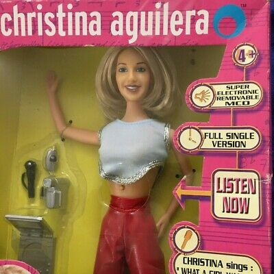 Official Christina Aguilera Singing Fashion Doll Figure Y2K - Sealed & Complete • 35£