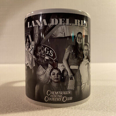 Lana Del Rey Chemtrails Over The Country Club Promotional Mug • 9£