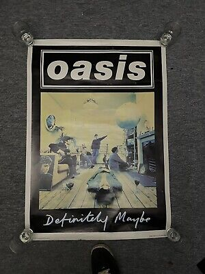 OASIS - DEFIANTLY MAYBE - UK 1997 Original Promo Poster 20x30 VERY RARE • 129.99£