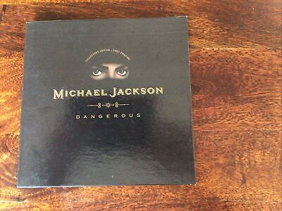 Michael Jackson Dangerous Pop Up Collectors Edition Case Only Missing Cd • 9.50£