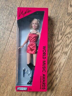 Kylie Minogue Collectable World Music Awards Doll BNIB  • 15£