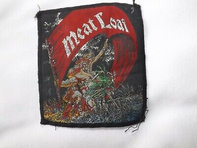 MEATLOAF ORIGINAL 70's SEW ON PATCH SIZE 4 X 3 INCH • 2£