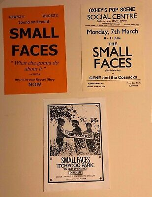 The Small Faces: Replica Posters • 5£