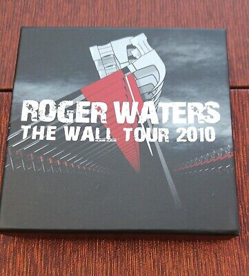 Roger Waters ~The Wall ~  2010 Tour ~ Box Set 4 X Pins ~ VIP Gift .. Xxxx • 35£