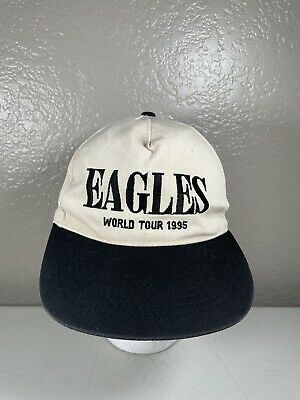 Vintage The Eagles 1995 World Tour Concert Snapback Hat Hell Freezes Over Tour • 28.35£