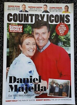 Country Icons 24 Page Sunday World Supplement • 2.99£