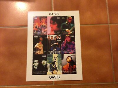 Early Oasis Stamps • 3£