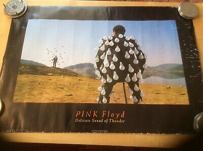 Anabus Vintage Pink Floyd Poster,1989 Sound Of Thunder. AC012 • 25£