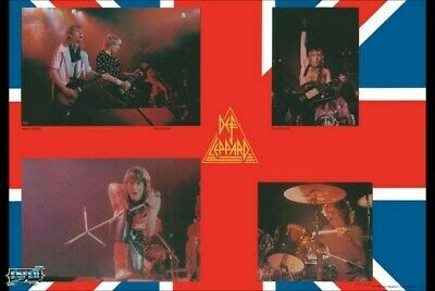 DEF LEPPARD POSTER Live On Stage Collage RARE HOT NEW • 2.94£
