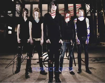 ASKING ALEXANDRIA BAND SIGNED 10X8 PP REPRO PHOTO PRINT Ben Bruce Danny Worsnop • 5.99£