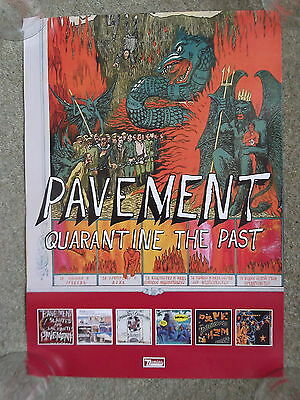 Pavement - Quarantine The Past - PROMO POSTER • 6.99£