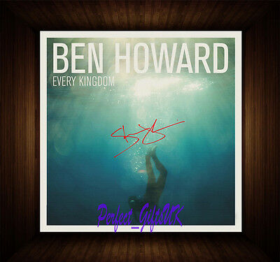 Ben Howard Every Kingdom PP Signed Autographed Framed Photo/Box Canvas Print • 28.99£