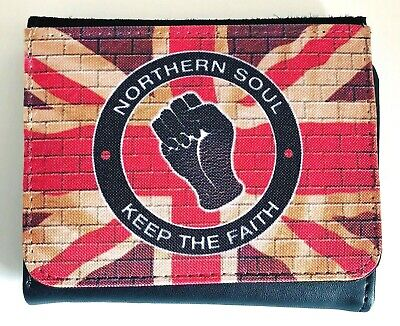 Mens Northern Soul Wallet, Scooter Wallet, Keep The Faith Wallet, Mod Wallet • 8.95£
