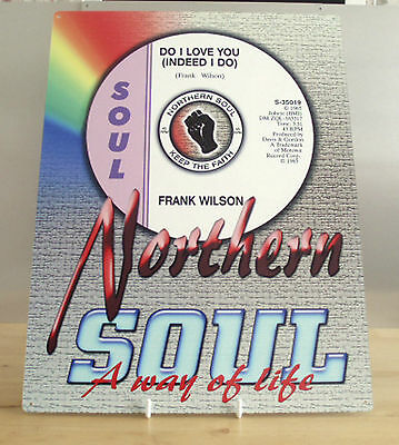 Northern Soul Metal Sign, Scooter Metal Sign, Do I Love You, Keep The Faith Sign • 10.40£