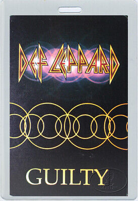 DEF LEPPARD 1999 Euphoria Tour Laminated Backstage Pass • 31.48£
