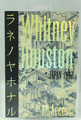 Whitney Houston 1997 Japan Laminated Backstage Pass • 30.88£