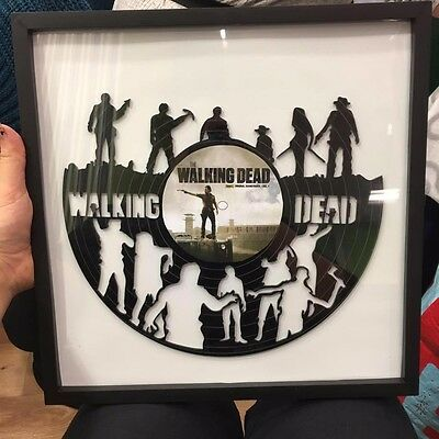 Acrylic Record Art The Walking Dead • 25£