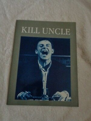 Morrissey Kill Uncle Tour Programme With Harvey Keitel Cover • 25£