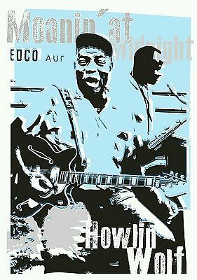 Howlin Wolf Blues Specially Designed Poster Prints  • 5£