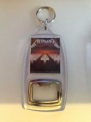 Heavy Metal - Metallica - Masters Of Puppets  - Key Ring Bottle Opener - New • 2.49£