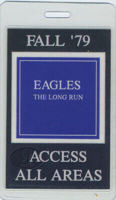 THE EAGLES 1979 Laminated Backstage Pass All Areas • 54.70£