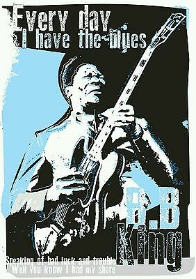 BB King Blues Specially Designed Poster Prints  • 5£