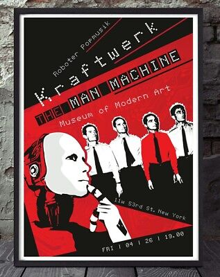 Kraftwerk Electronic Music Print. Specially Created. • 5£