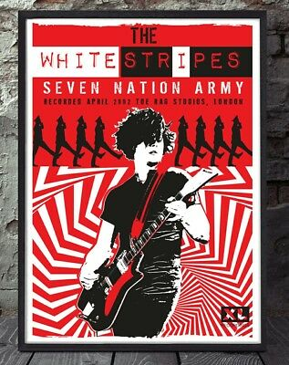 The White Stripes Poster. Specially Created. • 5£