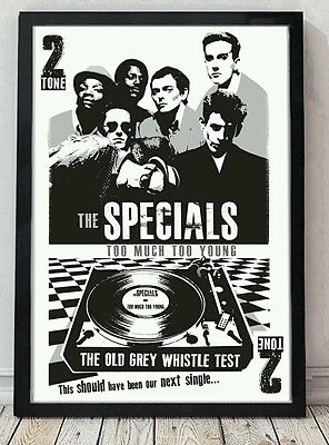 The Specials Poster. Celebrating Famous Gigs. Specially Created. • 5£