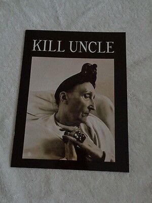 Morrissey Kill Uncle Tour Programme USA Brown Cover With Edith Sitwell Image  • 25£