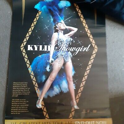 Kylie Minogue Showgirl Promo Poster • 25£