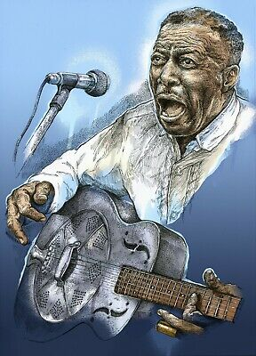 Son House Art Print Unframed Blues Specially Designed • 7.50£