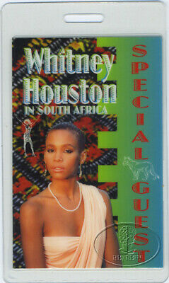 Whitney Houston 1994 Africa Laminated Backstage Pass • 30.88£