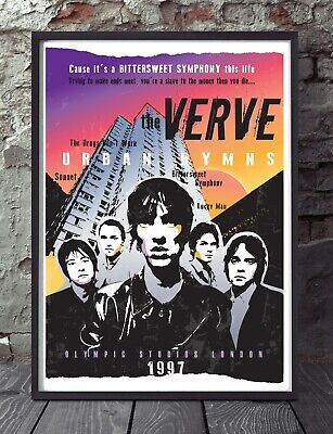 The Verve. Richard Ashcroft Poster. Specially Created. • 5£