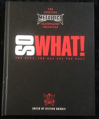 So What Metallica Book • 6.50£