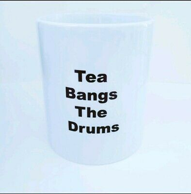 Stone Roses Tea Bangs The Drums Mug • 5£