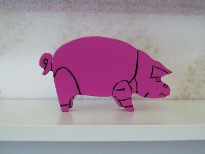 Pink Floyd Animals Pig Algie Album Cover Standing Ornament. • 25£