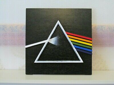 Pink Floyd The Dark Side Of The Moon 3D Album Cover Replica • 90£