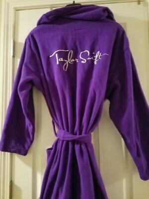 Taylor Swift - Fearless Era Official Purple Robe! - Free Shipping-usa-[last One] • 203.73£