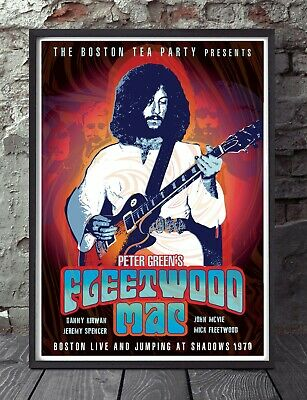 Peter Green Fleetwood Mac A4 Size Poster. Specially Designed • 6£