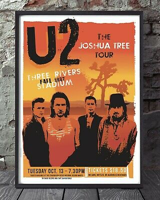 U2 Print. Specially Created. • 5£