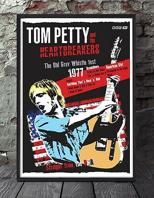 Tom Petty A4 Print. Specially Created. • 5£