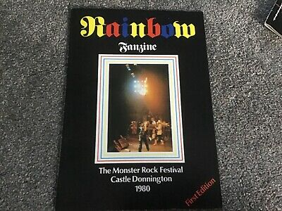 Rainbow - Monsters Of Rock Donnington 1980 1st Edition Fanzine • 21.95£