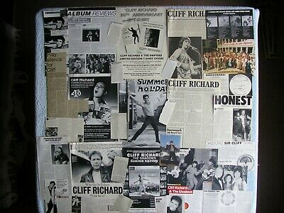 Cliff Richard - Magazine Cuttings Collection - Clippings, Articles, Photos X25. • 2.54£