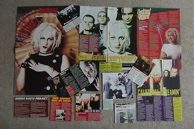 Human Waste Project - Magazine Cuttings Collection - Articles, Clippings X13 • 1.94£