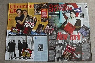 3 Colours Red - Magazine Cuttings Collection - Articles, Photos, Clippings X54 • 2.94£