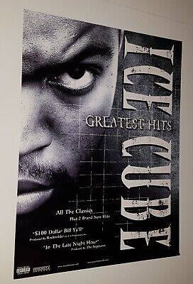 Ice Cube  Greatest Hits  Promotional Only Poster Priority Records  • 9.97£