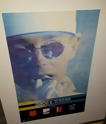 Pet Shop Boys Promotional Only Poster   Disco 2   1994 • 19.91£
