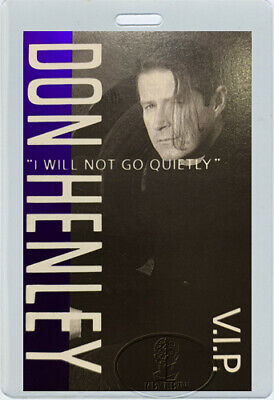 DON HENLEY 1989 VIP Laminated Backstage Pass THE EAGLES • 19.53£