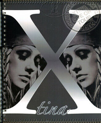 CHRISTINA AGUILERA 2003 Tour Concert Program Book Tour Book • 71.45£